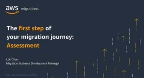 The first step of your migration journey - Assessment