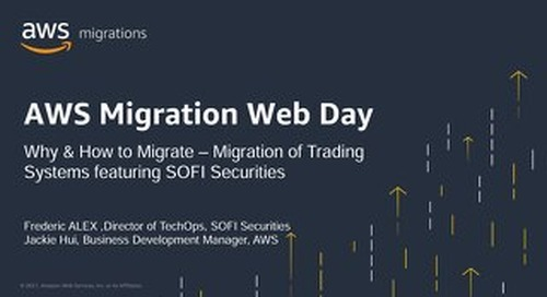 Migration of Trading Systems featuring SOFI Securities (Slide)