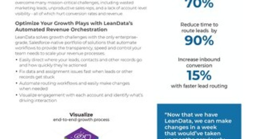 Enterprise Go-to-Market Solutions Datasheet