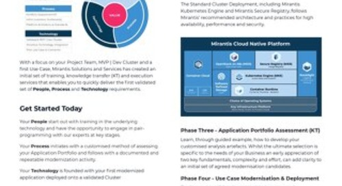 Solutions and Services Brochure: Focus on Launch