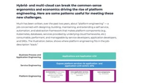White Paper: Platform Engineering Challenges and Solutions