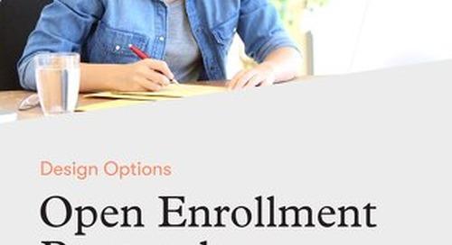 Open Enrollment Postcard Templates