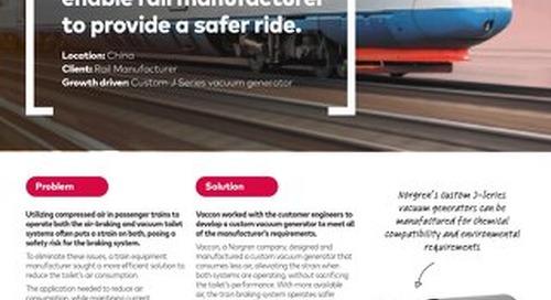 Norgren Vaccon Rail Manufacturer Waste Management Case Study