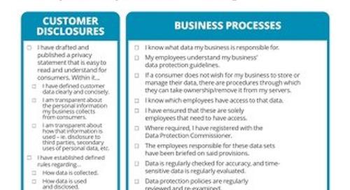 Data Privacy Checklist for Dedicated Hosting