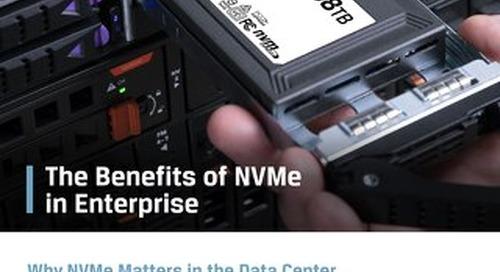 Benefits of NVMe in Enterprise-Kingston