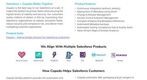 Copado for High Tech Datasheet