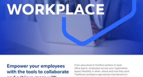 Cognizant MBG GO Intelligent Workplace 2021 Flyer