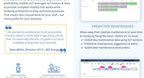 FieldVu IIoT for Asset Management
