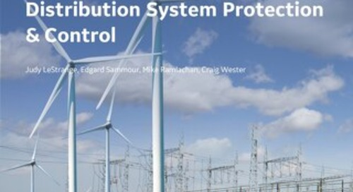 Wireless Solutions for Reliable Distribution System Protection & Control