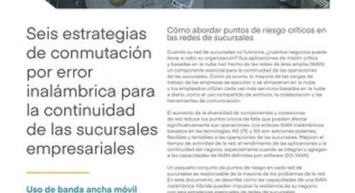 6 Wireless Failover Strategies - Spanish (EU)
