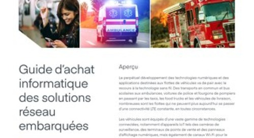 Vehicle Network Solutions Guide for IT - French (EU)