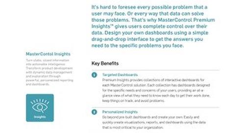 MasterControl Premium Insights™