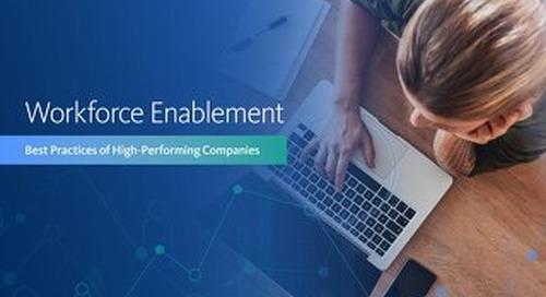 eBook: Workforce Enablement Best Practices of High-Performing Companies