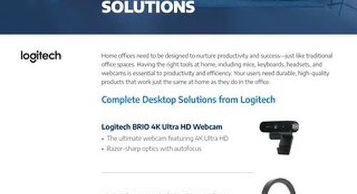 Logitech Delivers Complete Workspace Solutions