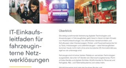 Vehicle Network Solutions Guide for IT – German