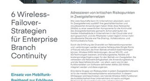 6 Wireless Failover Strategies – German