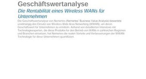 Rentabilität eines Wireless WANs für Unternehmen