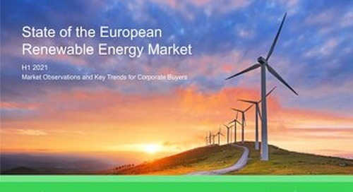 DOWNLOAD: State of the European Renewable Energy Market (H1 2021)