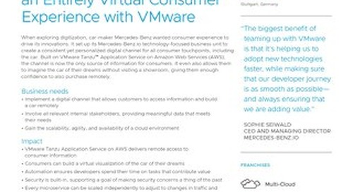 Mercedes-Benz.io Builds an Entirely Virtual Consumer Experience with VMware