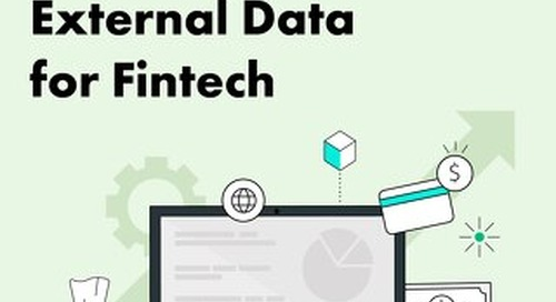 The Definitive Guide to External Data for Fintech