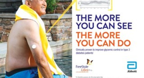 Glucose monitoring made easy: FreeStyle Libre Pro