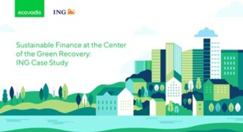 Sustainable Finance at the Center of the Green Recovery