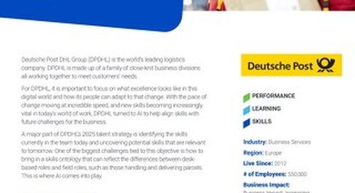 Case Study Deutsche Post DHL Group