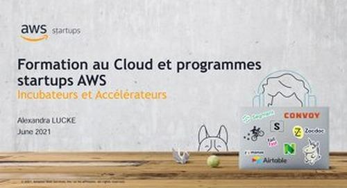 Formation au Cloud et programmes Startups AWS