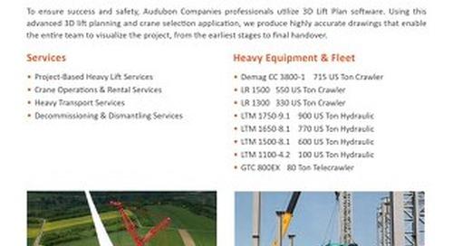 Crane & Heavy Lift Services