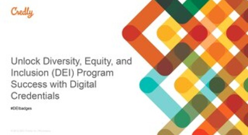 Unlock Diversity, Equity, and Inclusion (DEI) Program Success with Digital Credentials