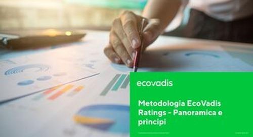 Metodologia EcoVadis Ratings - Panoramica e principi