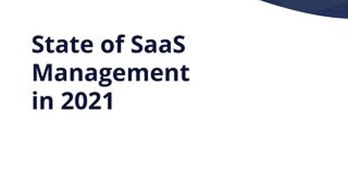 The State of SaaS Management in 2021