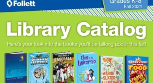 Library K-8 Fall 2021 Catalog