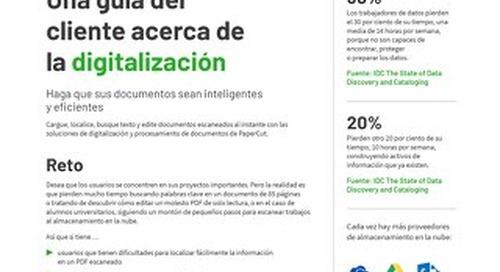 PaperCut Customer Guide to Digitization Esp