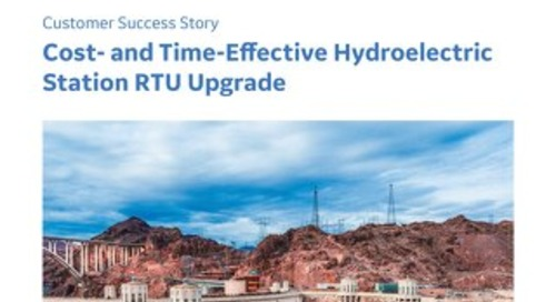 Case Study: Cost and Time Effective Hydroelectric Station RTU Upgrade