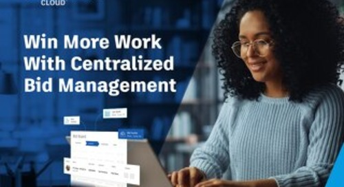 Win More Work with Centralized Bid Management