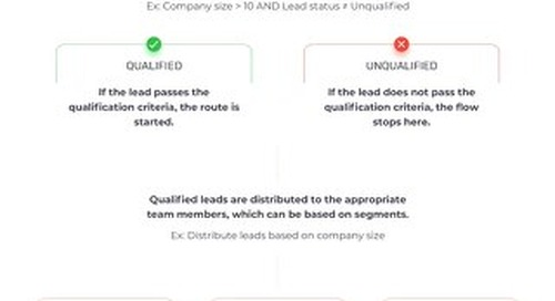 Distro Workflow: Route + Assign Qualified Leads