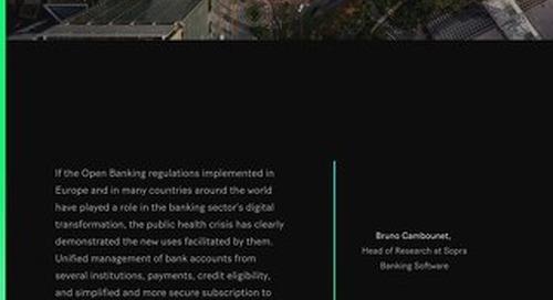 Open Banking, Open Finance & Embedded Finance