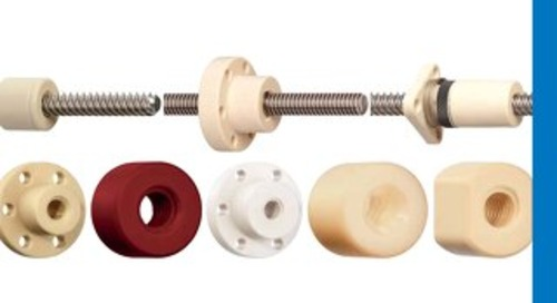 drylin lead screw & nut 2021 catalog