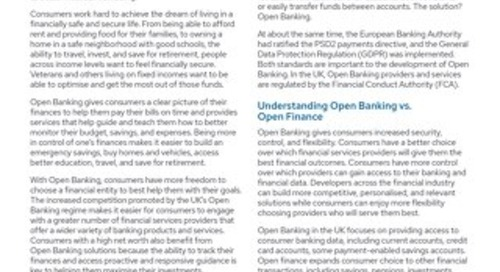 Consumer Financial Well-Being Gets a Boost from UK Open Banking and Open Finance
