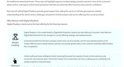 Digital Shadows Partner Program Overview