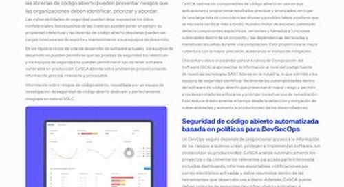 SCA Spanish Datasheet 2021