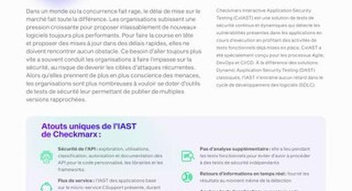 CxIAST  French July 2021 Datasheet