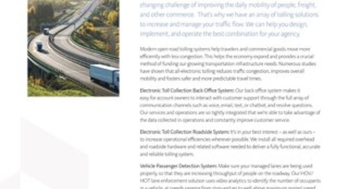 Conduent Electronic Toll Collection Systems