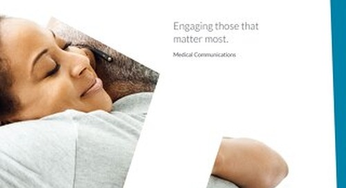 Medical Communications Overview Brochure