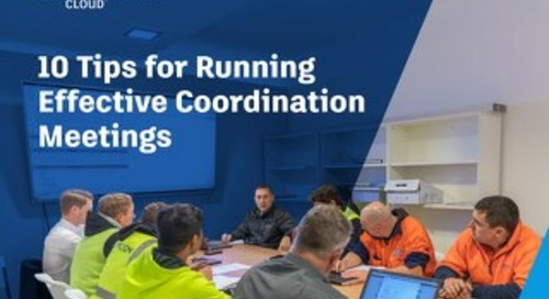 10 Tips for Effective Coordination Meetings