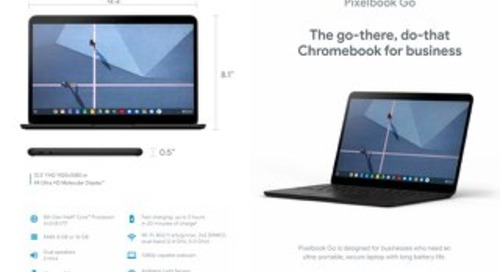 Meet the all-new Pixelbook Go