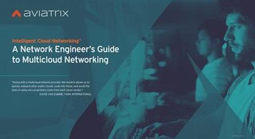 Network Engineers Guide to Multi-Cloud Networking eBook