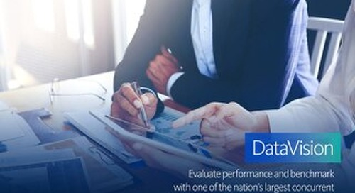 DataVision: Evaluate performance and benchmark with one of the nation's largest concurrent comparative databases.