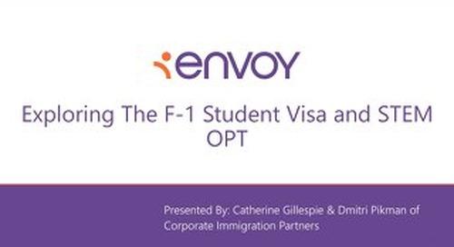 [Slidedeck] Exploring the F-1 Student Visa and STEM OPT
